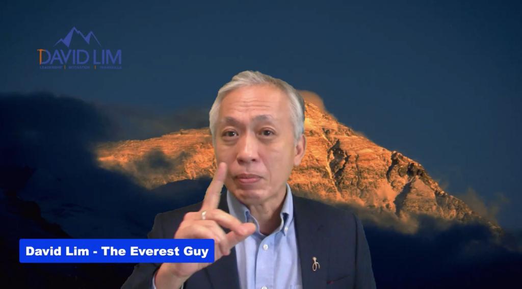 David Lim virtual presenter